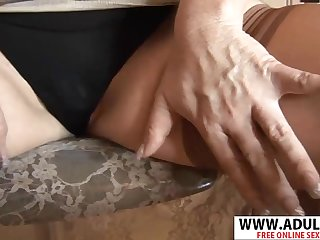 Smoking Mother I´d Like To Fuck Origin Jilling  Gives Handjob Permanent Steamy Bud - dawn jilling