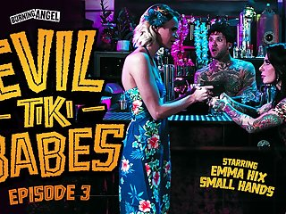 Emma Hix & Small Hands in Evil Tiki Babes: Try one's luck 3, Scene #01 - BurningAngel