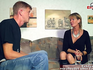 German mature superannuated mother widely applicable seduced younger son tramp