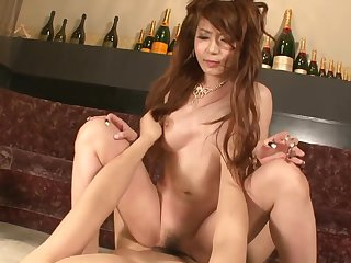 Asian princes saturated with wonderful magic wand and slit creampied